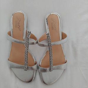 Badgley Mischka Rhinestone Sandals